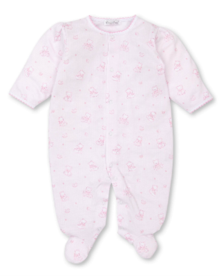 Kissy Kissy Preemie Bearly Believable Footie 5239N