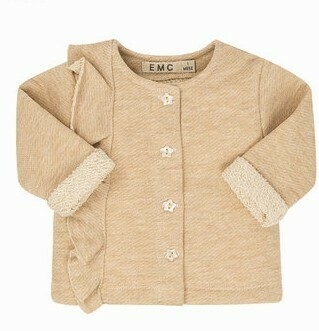 EMC Lurex Fleece Cardigan 1565