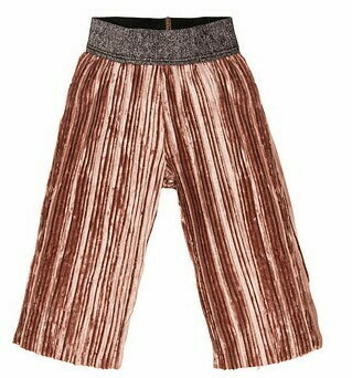 EMC Pleated Knit Velour Trousers 6506
