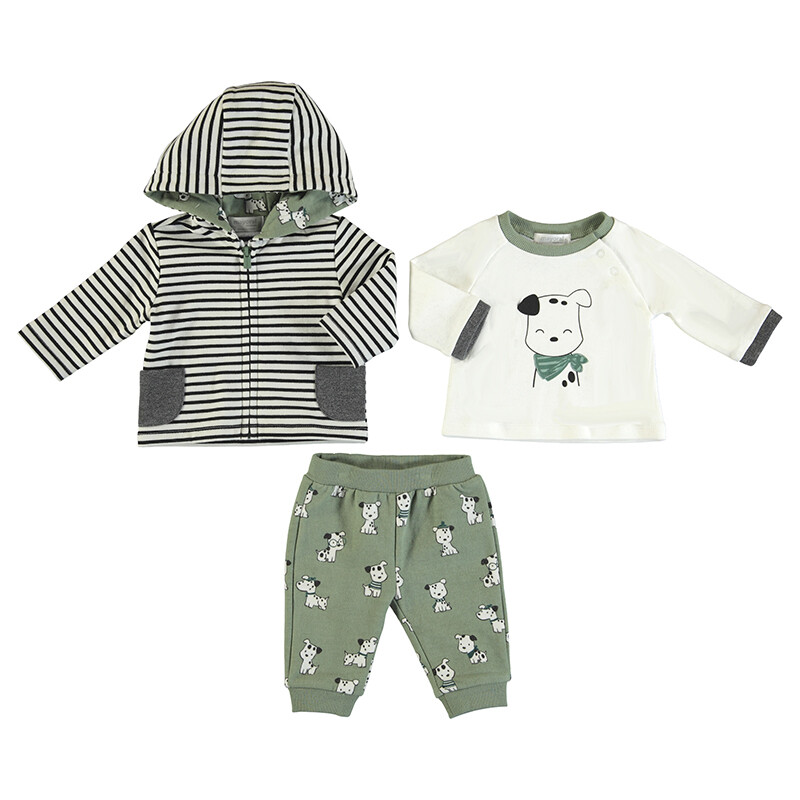Mayoral Olive 3pc Track Suit 2643
