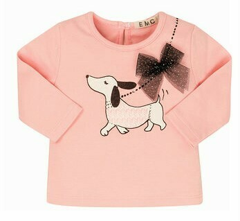 EMC Pink Puppy T-Shirt w/Milano Stretch Pants 1689