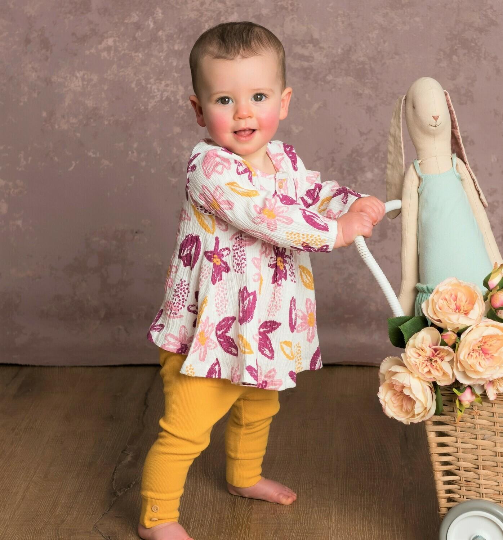 Kidding Around Top & Legging Set (floral 34780