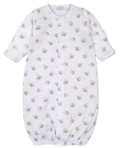 Kissy Kissy Swinging Sloths Convertible Gown 4733N