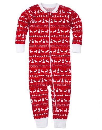 Kissy Kissy Christmas PJ's  w/zip 2357I