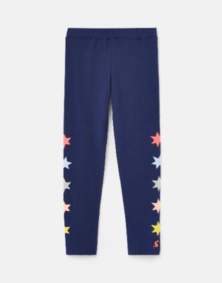 Joules Navy Stars Leggings 210429