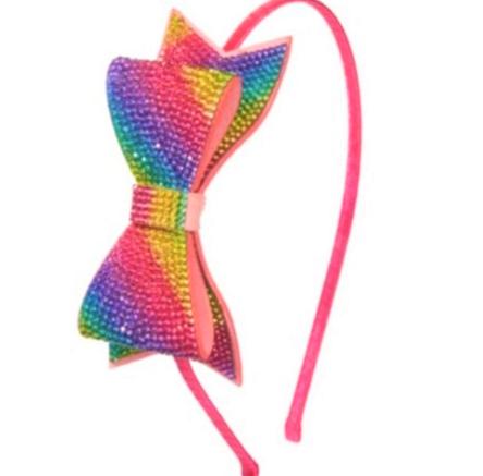 Bari Lynn Ombre Rainbow Thin Headband