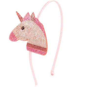 Bari Lynn Emoji Unicorn Multi Pink Headband