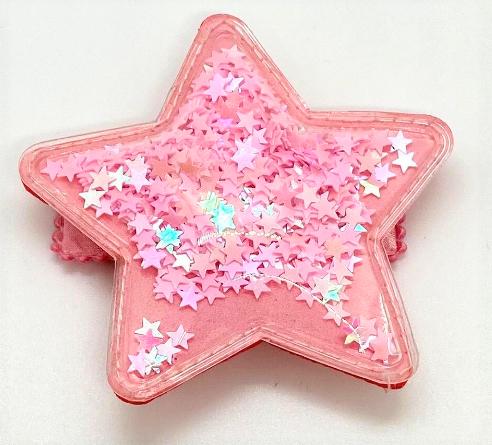 Bari Lynn Pink Confetti Star Clip