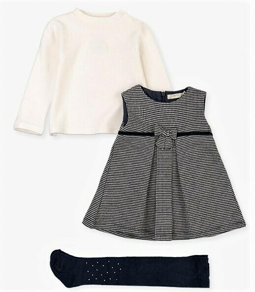 Losan Navy Dress Set w/ Tight 8791