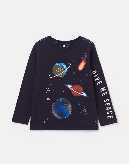 Joules Navy Space Shirt 210653