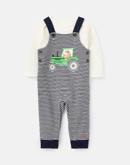 Joules Navy Tractor Jumper Set 210656