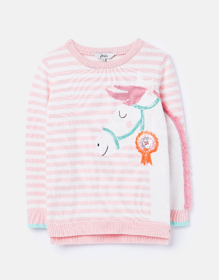Joules Pink Horse Top 209428