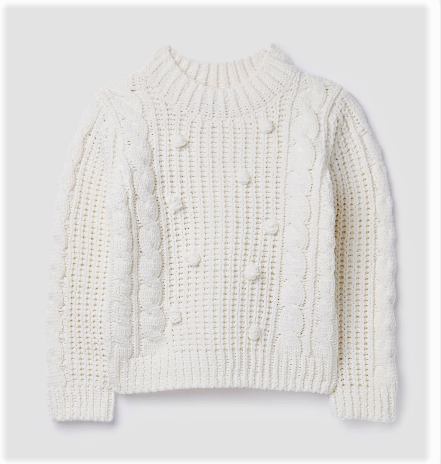 Joules Cream Sweater 212869