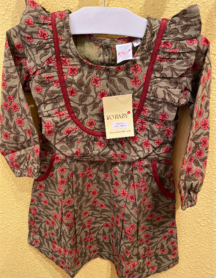 Yo Baby Smock Top Floral Dress 1731