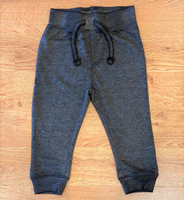 Mish Boys Black Distressed Jogger Pants 522