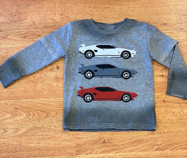 Mish Boys Sports Car Tee 795