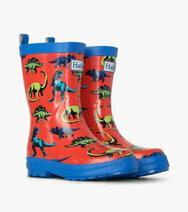 Hatley Dinos Shiny Rain Boots