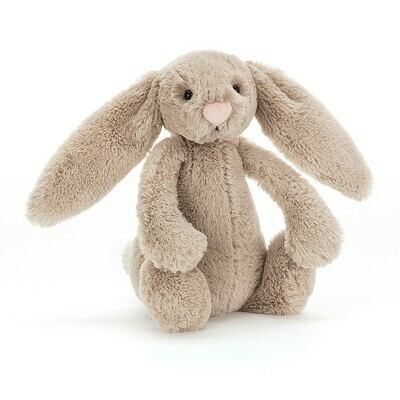 JellyCat Bashful Beige Bunny Small 7""