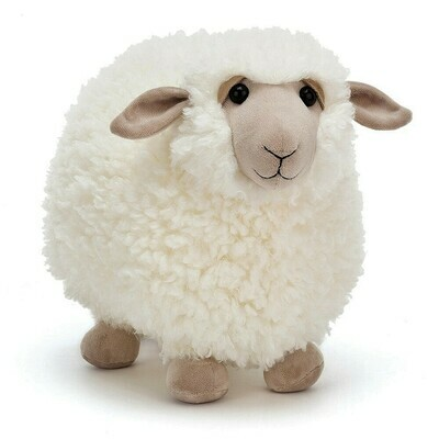 JellyCat Rolbie Cream Sheep Small 8""