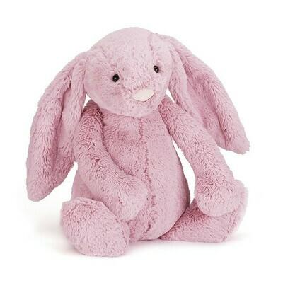 "Jellycat Bashful Tulip Pink Bunny Small 7"""