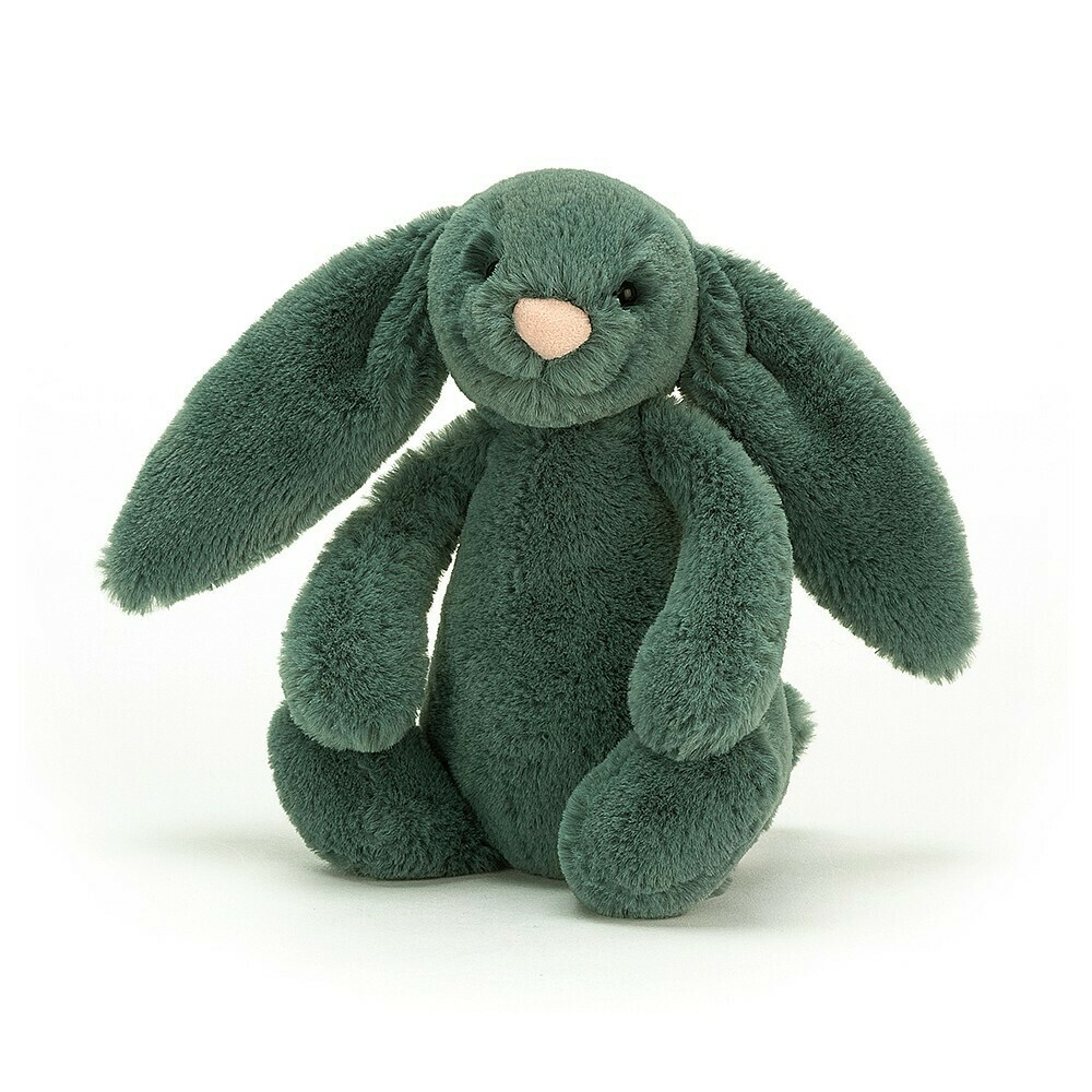 Jellycat Bashful Forest Bunny Small 7""