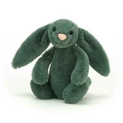 "Jellycat Bashful Forest Bunny Small 7"""