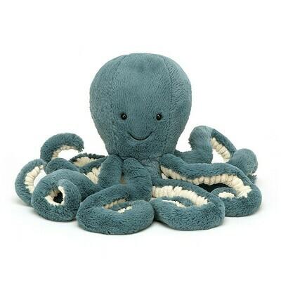 "JellyCat Storm Octopus Large 19"""