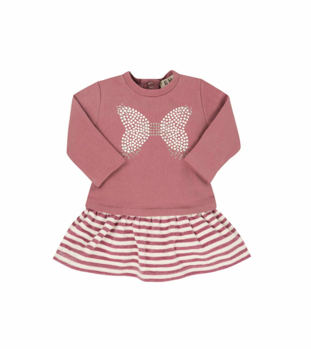 EMC Knit Velour Dress 4558