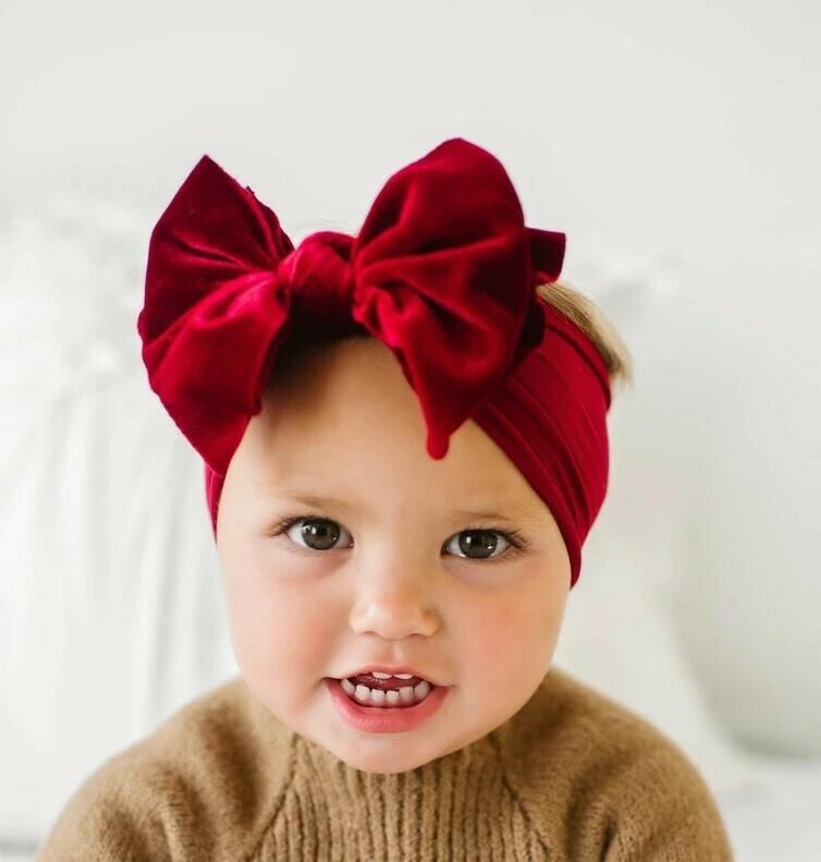 Baby Bling Velvet Fab Ruby