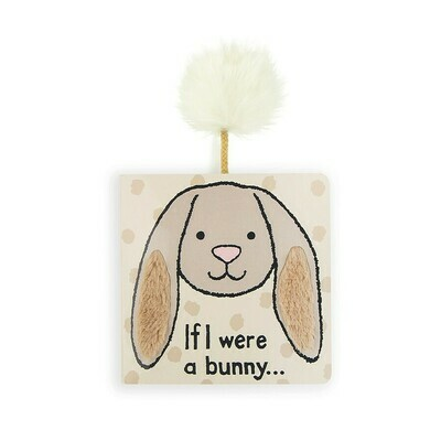 Jellycat If I Were A Bunny Book (Beige