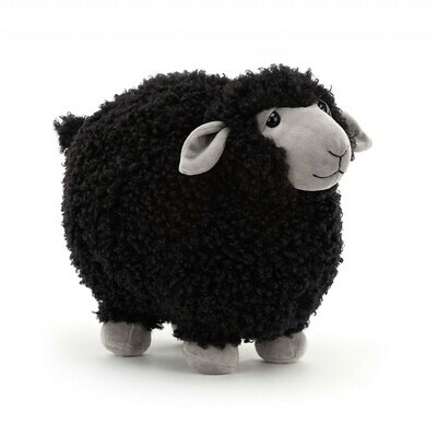 Jellycat Rolbie Sheep Black Small 8""
