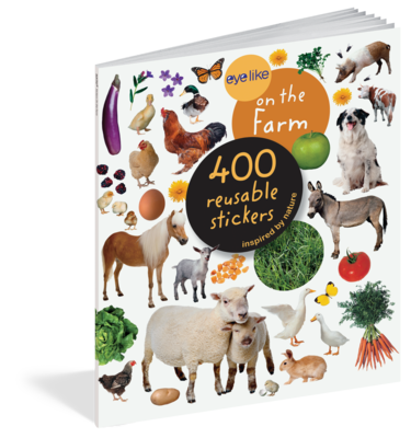Eye Like Reusable Stickers- On The Farm