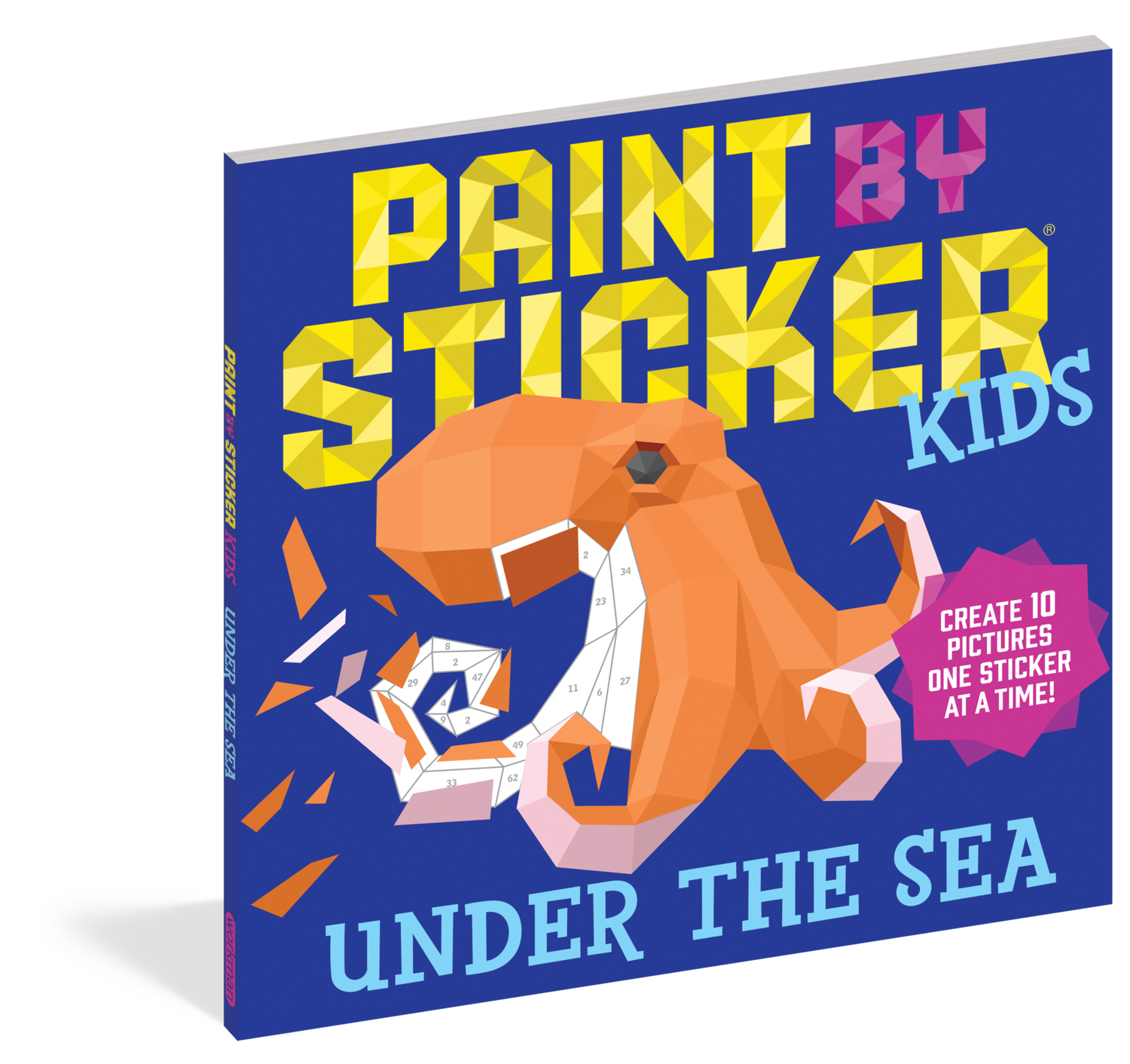 Paint By Sticker Kids- Under The Sea