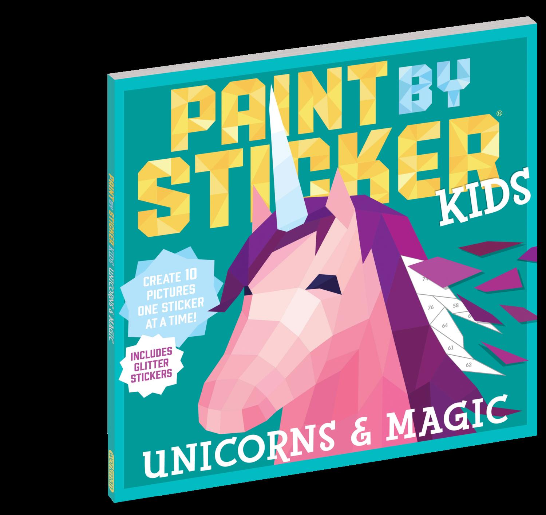 Paint By Sticker Kids- Unicorn & Magic