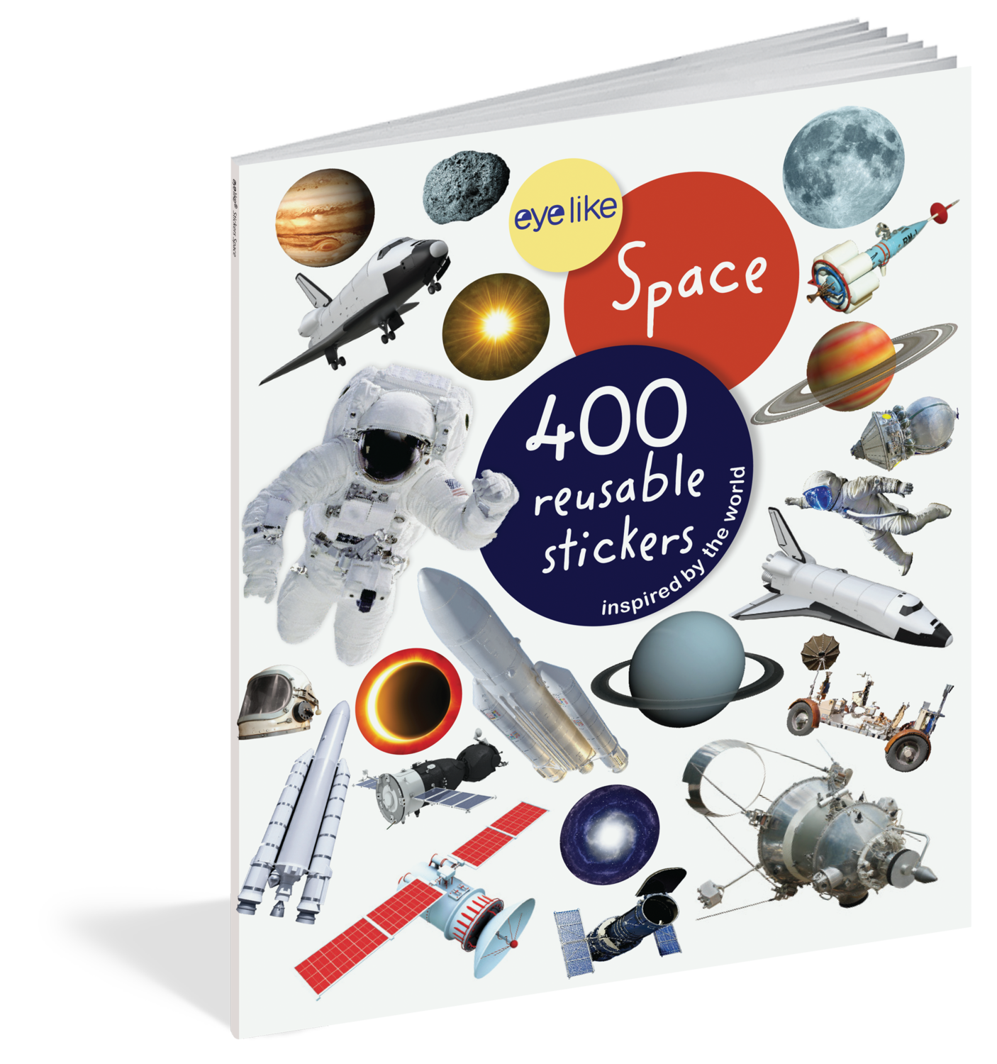 Eye Like Reusable Stickers- Space