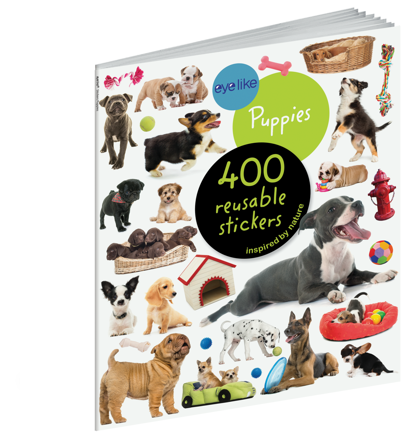 Eye Like Reusable Stickers- Puppies