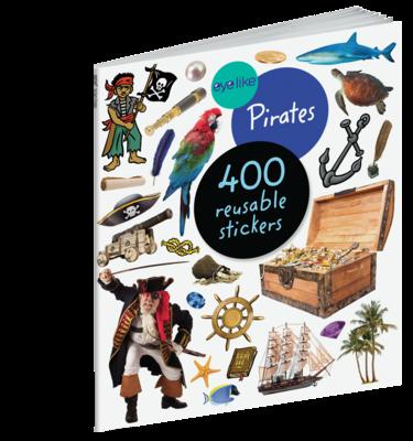 Eye Like Reusable Stickers- Pirates