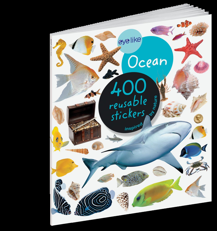 Eye Like Reusable Stickers- Ocean