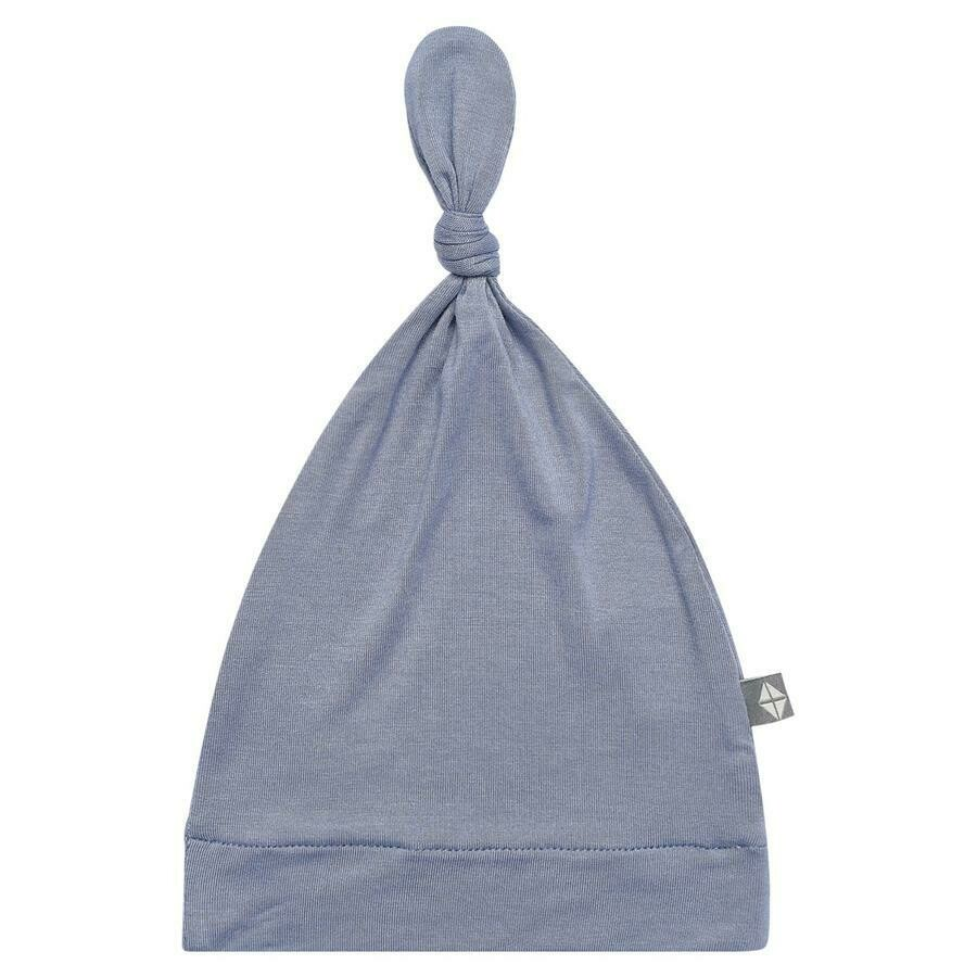 Kyte Knotted Cap in SLATE 3-6M