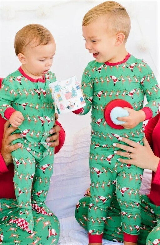 Magnetic Me Holly Folly Jolly Modal 2pc PJs 4207