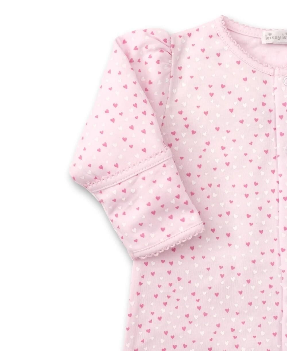 Kissy Kissy Sweetheart PREEMIE Conv Gown Pink 4060N