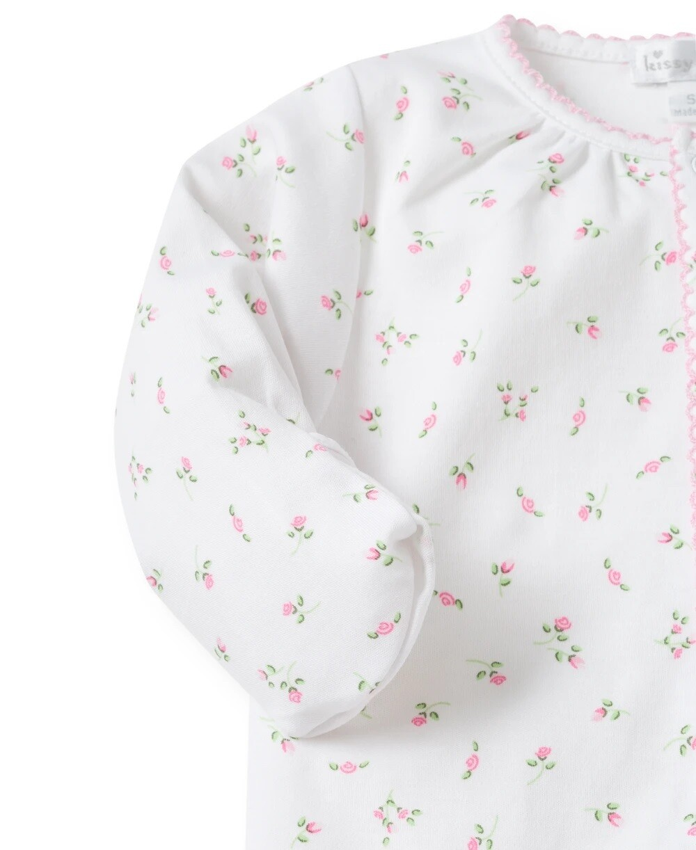Kissy Kissy Garden Roses Convertible Gown Preemie 24314P