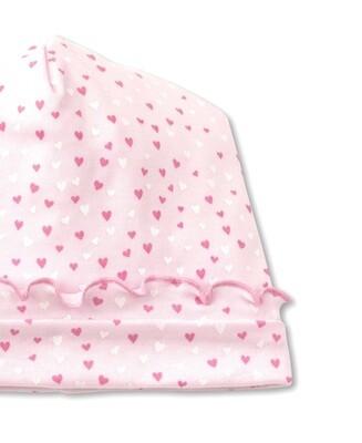 Kissy Kissy Sweetheart PREEMIE Hat Pink  4069N