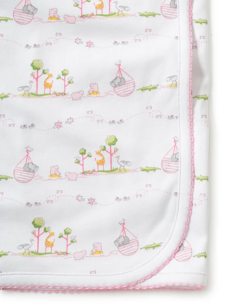 Kissy Kissy Noah's Print Blanket Pink 35308P