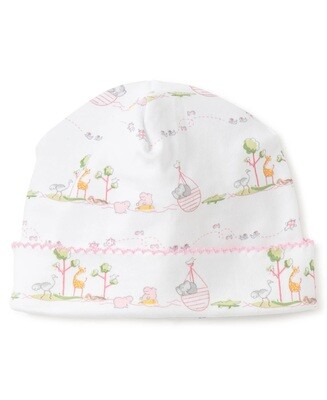 Kissy Kissy Noah's Print Hat PREEMIE Pink 35306P