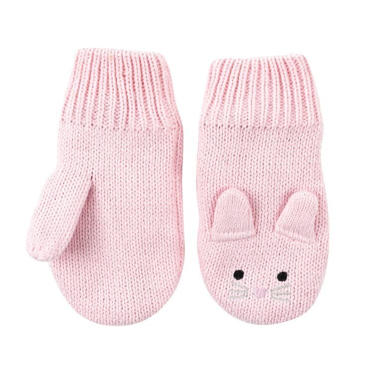 Zoocchini Bunny Baby Knit Mitten 6-12M