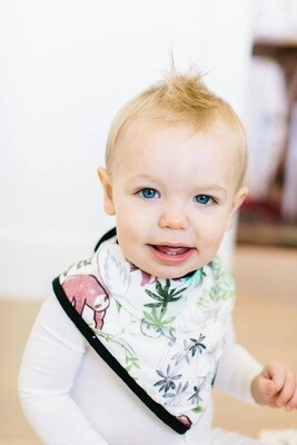Loulou Lollipop  Bandana Bib Set Sloth