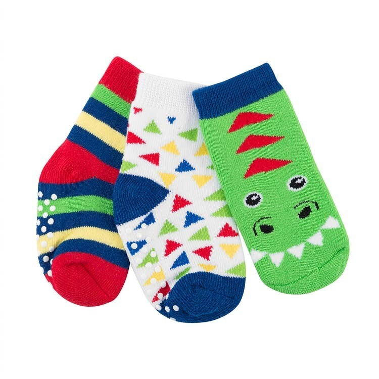 ZooCChini Devin Dinosaur Sock Set 0-24M