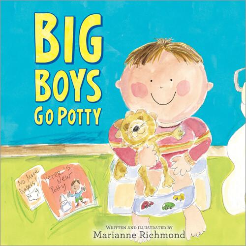 Big Boys Go Potty Book