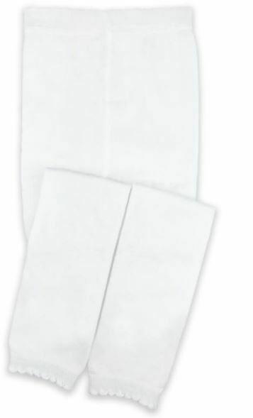 Jefferies Socks Footless Tight White